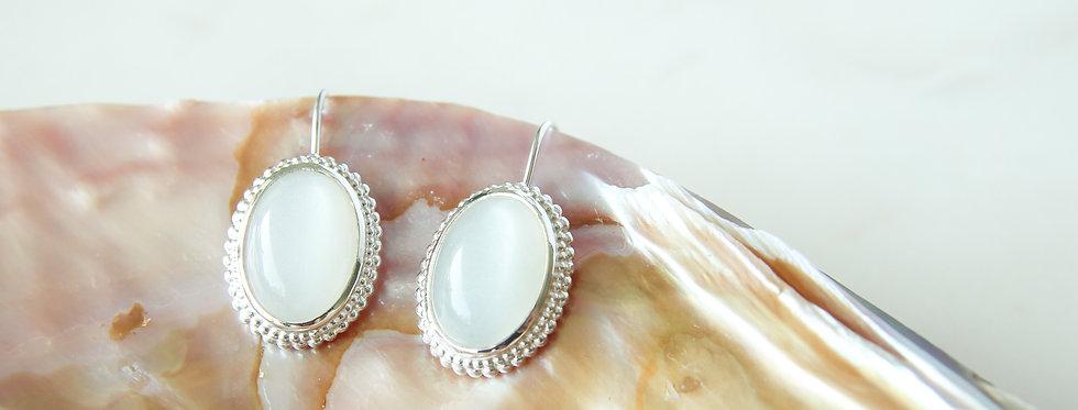 Mystic garden earrings hook
