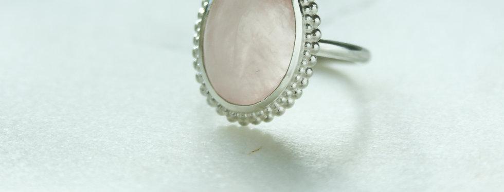 Mystic garden ring pink medium