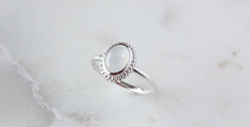 Mystic Garden ring white small