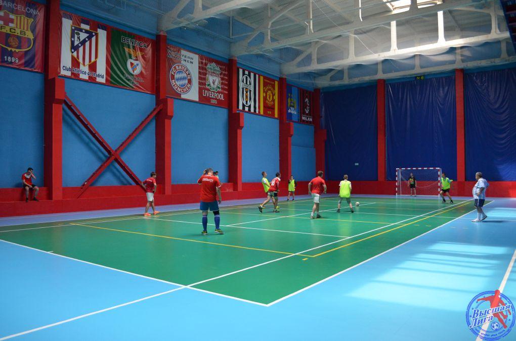 Футбольный матч Кремлевцы - Шатура