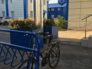 Открыта велопарковка!