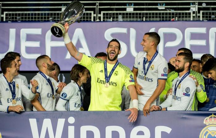 Реал Мадрид обладатель Суперкубка УЕФА-2016