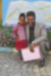 a new student with father.JPG