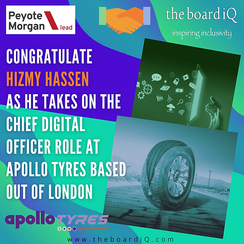 Congratulate HIZMY HASSEN AS HE TAKES ON
