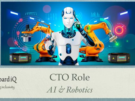 Exploring the CTO Role - AI & Robotics - Home Robots
