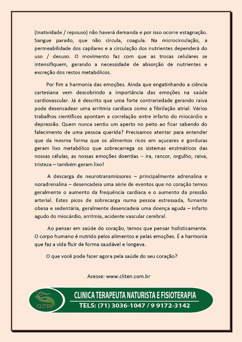SAÚDE DO CORAÇÃO - 0003