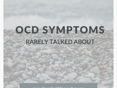 OCD Symptoms Rarely Talked About