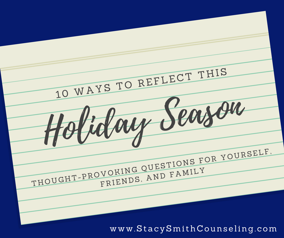 Holiday Season Reflection