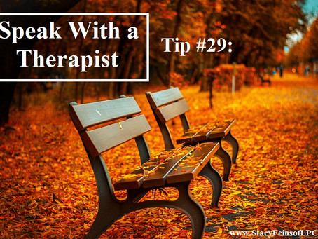 Overcoming Anxiety: Tip #29