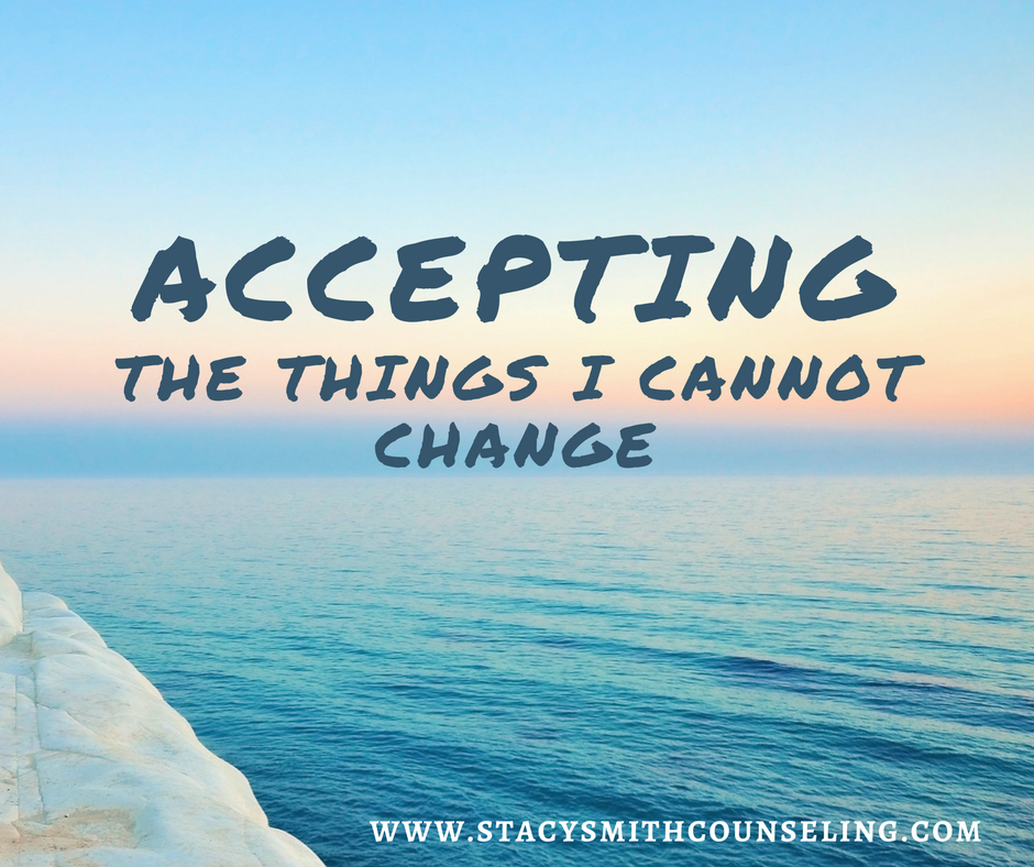 Accept the Things I Cannot Change