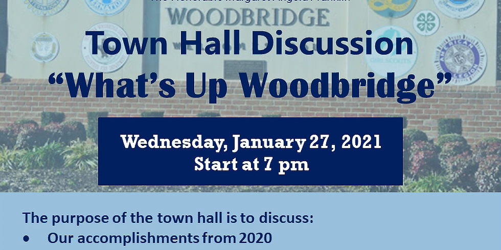 Town Hall Discussion - January 2021