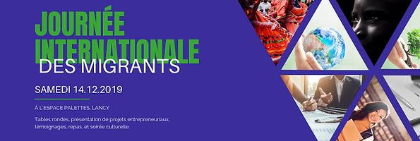 Banner Journee Internationale des Migran