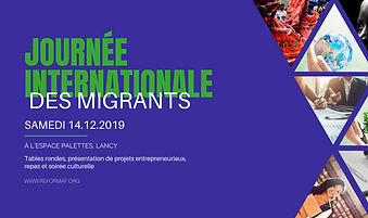 Journee Internationale des Migrants -ref