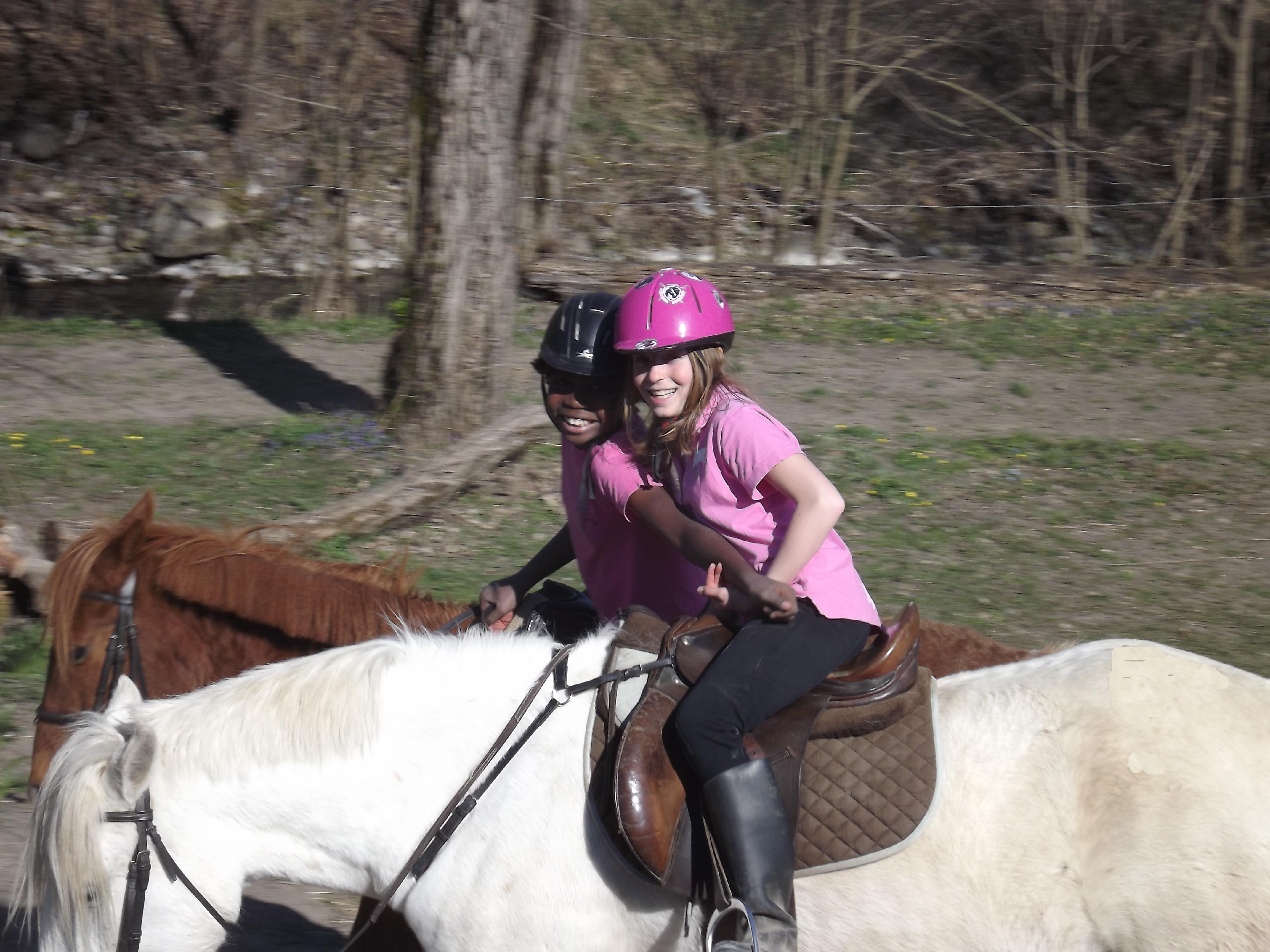 Equitation pour enfants !