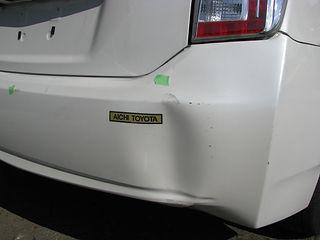 美濃加茂市 可児市 加茂郡 自動車 修理 板金、鈑金 塗装 キズ へこみ