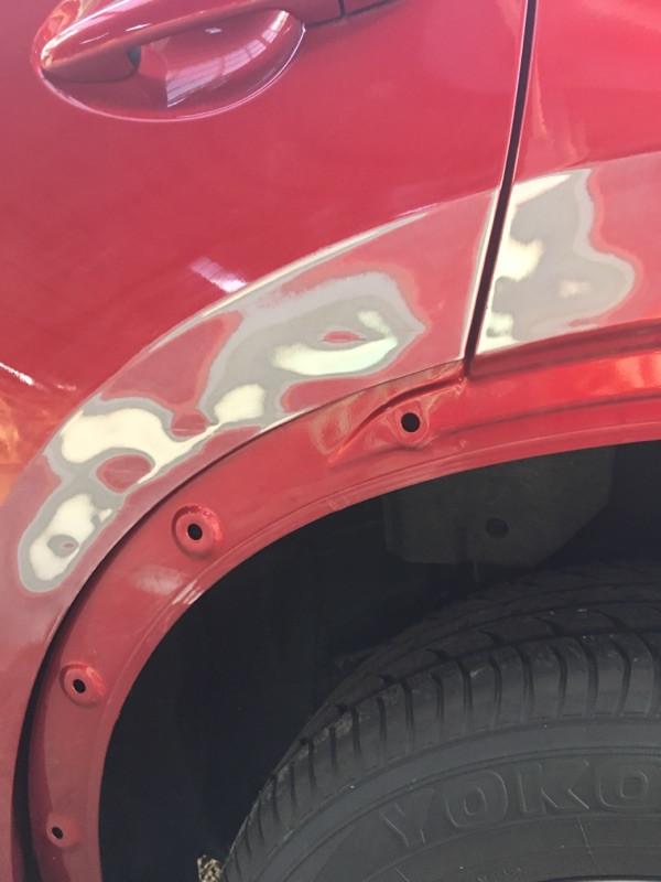 自動車 車 板金 塗装 キズ へこみ 美濃加茂市