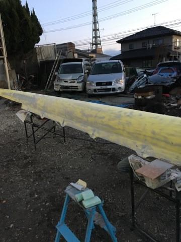 岐阜県 美濃加茂市 ボート 塗装