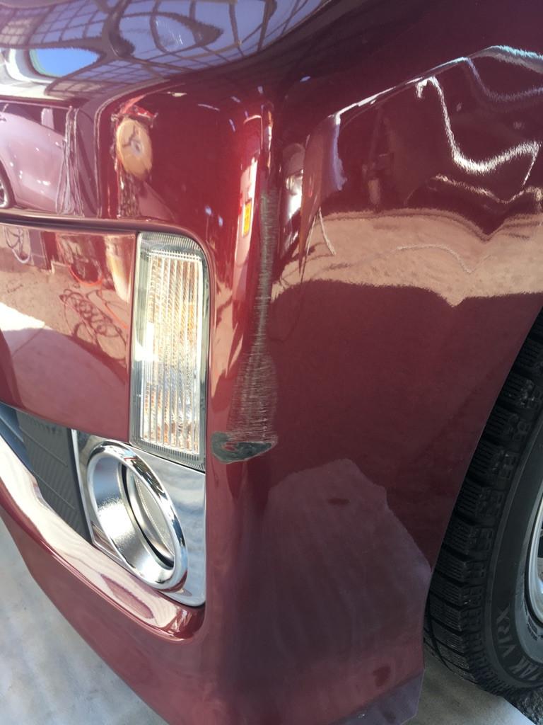 自動車 バンパー 修理 塗装
