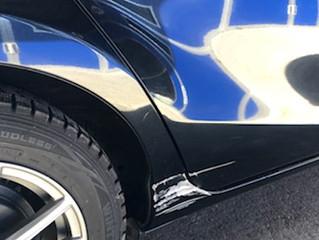 アクアの凹み、キズの鈑金、塗装、修理