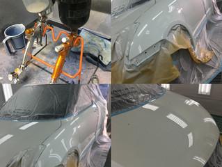 スイフト 鈑金、塗装、修理