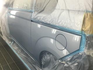 ポルテ鈑金、塗装、修理