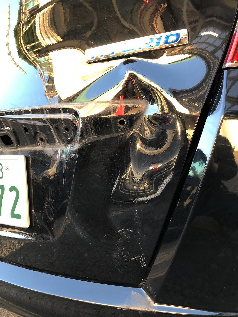 可児市 美濃加茂市 自動車 板金 塗装 きず へこみ