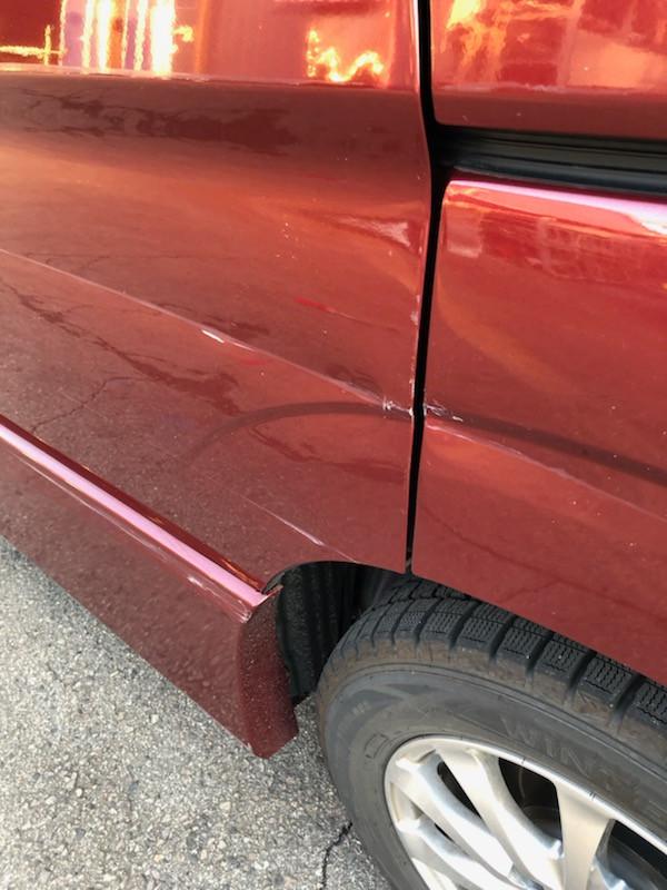 美濃加茂市 可児市 加茂郡 自動車 へこみ きず 自動車修理 鈑金 塗装