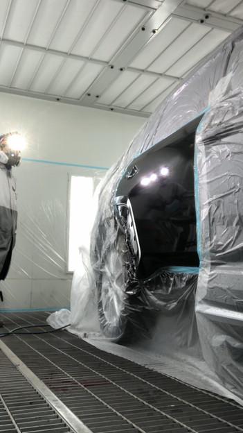 トヨタRAV4の鈑金塗装修理