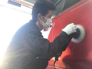 美濃加茂市 自動車 板金、鈑金 塗装 キズ へこみ 架装