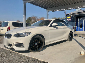 BMW GLAREコーティング&カスタム