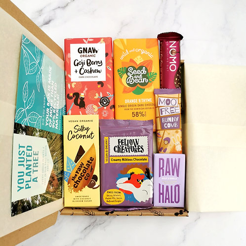 Vegan Chocolate Selection - Fruity & Coconutty