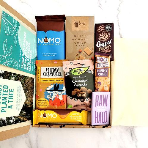 Vegan Chocolate Selection -Caramel & Cream Collection