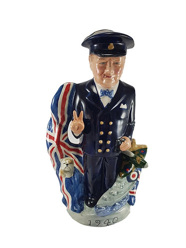 Bairstow Manor Pottery Double Sided Toby Jug 'Warlords: Clash of Titans'