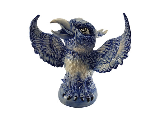 Peggy Davies Grotesque Bird (Martin Brothers) 'Phoenix Series' 'The Phoenix'