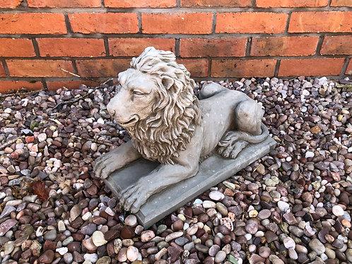 Lion on a Plinth