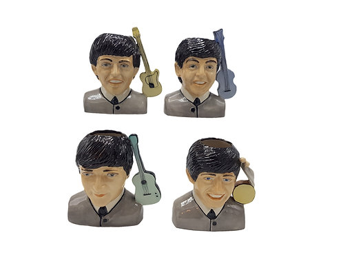 Kevin Francis/ Peggy Davies Character Jugs 'The Beatles' 'Legends of Pop'