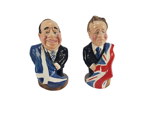 Bairstow Manor Pottery Figure 'State of the Union' Salmond & Cameron
