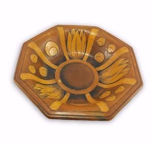 Moorcroft Octagonal Bowl 1930s