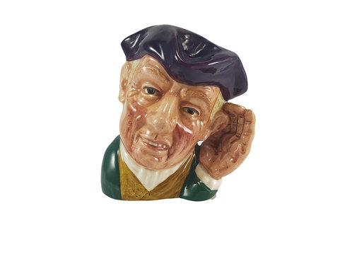Rare Small Royal Doulton Character Jug 'Ard of Earing'