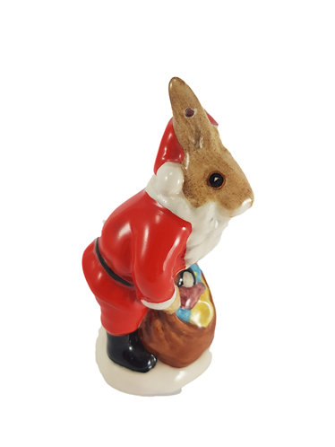 Rare Royal Doulton Bunnykins Christmas Tree Ornament 'Santa Bunnykins'