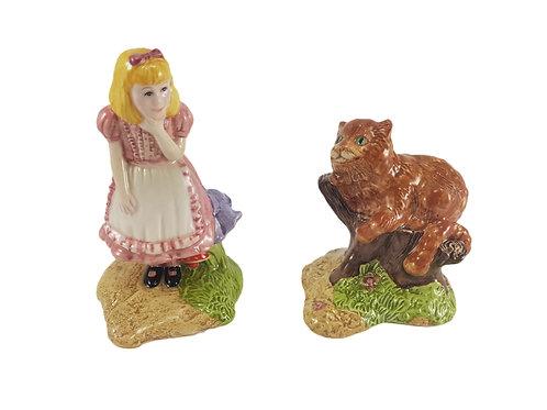 Beswick Alice In Wonderland Figures 'Alice & The Cheshire Cat'
