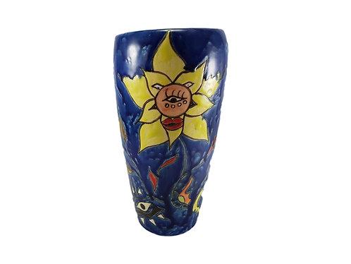 Burslem Pottery Vase Daffodil Trial Vase