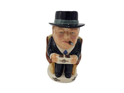 Bairstow Manor Pottery Cigar Jar 'Sir Winston Churchill'