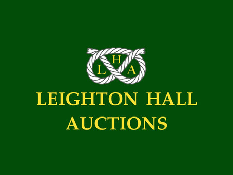 Welcome to Leighton Hall Auctions!