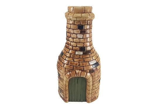Large Burslem Pottery Vase 'Bottle Kiln'
