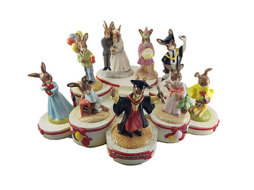 Royal Doulton Bunnykins Figure Set 'Special Occasions'