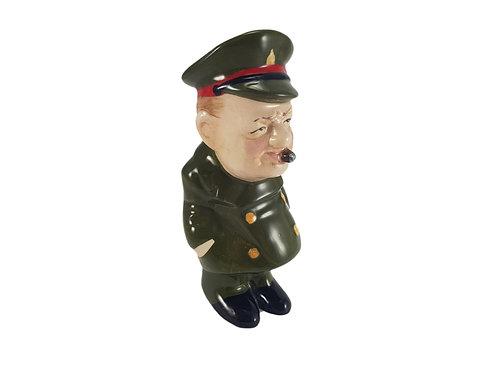 Bairstow Manor Pottery Comical Figure 'Sir Winston Churchill'