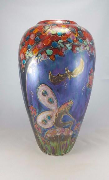Anita Harris Fairydust Lustre Vase