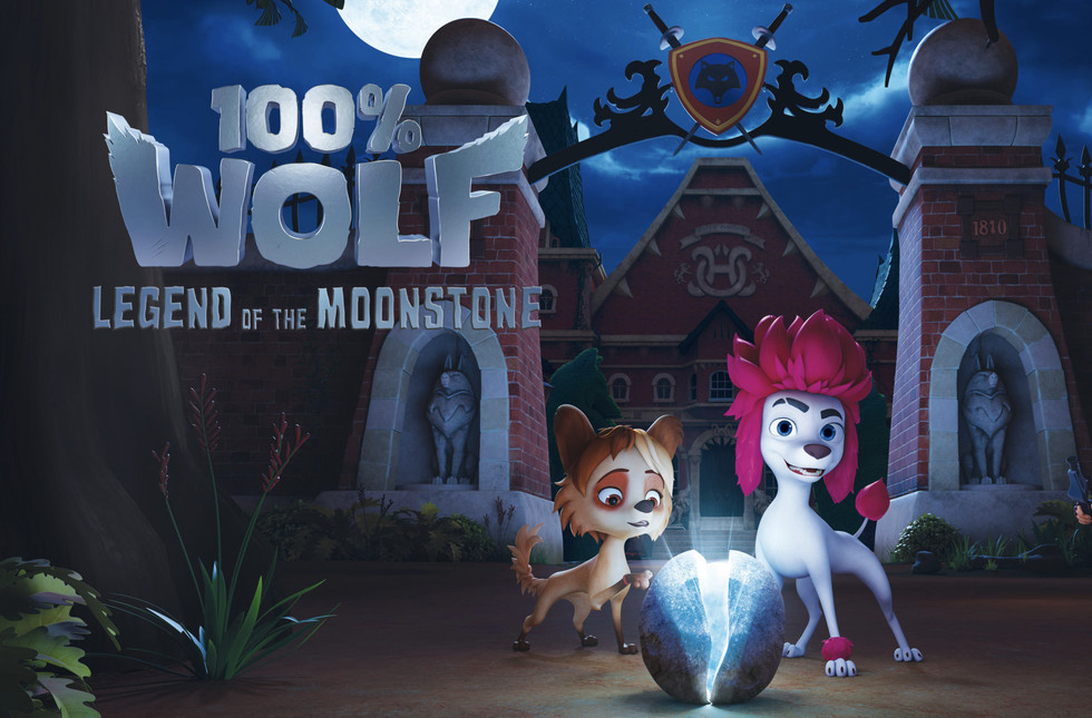 100% Wolf: Legend of the Moonstone