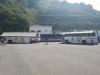(株)丸栄組安全衛生協力会 献血活動実施